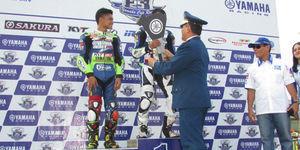 Reza Pahlevi dan Aditya Nugraha Juarai Yamaha Cup Race Medan
