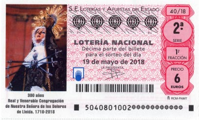 loteria nacional del sabado 19 de mayo de 2018