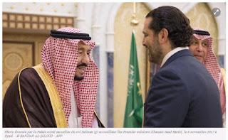 """Le Hezbollah accuse l'Arabie Saoudite de """"détenir"""" le Premier libanais Saad Hairiri"""
