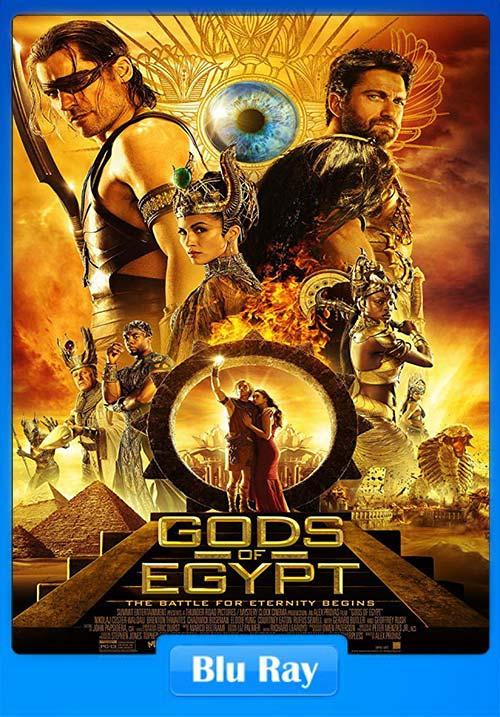 Gods of Egypt 2016 720p Esub BluRay Dual Audio English Hindi | 480p 300MB | 100MB HEVC