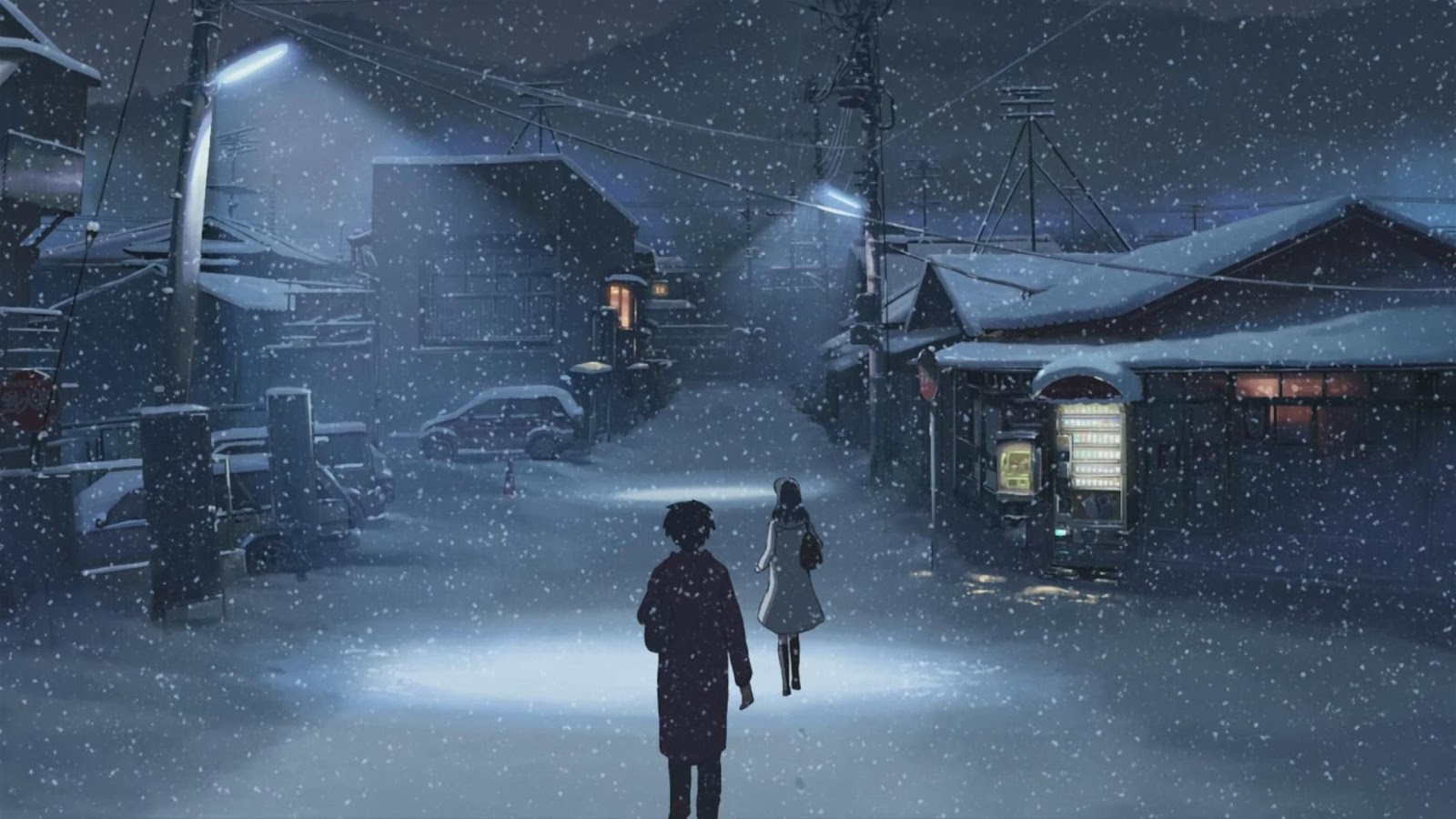 33 5 Centimeters Per Second Wallpaper Magone 2016