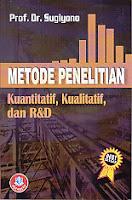 Judul : Metode Penelitian Kuantitatif, Kualitatif, dan R&D