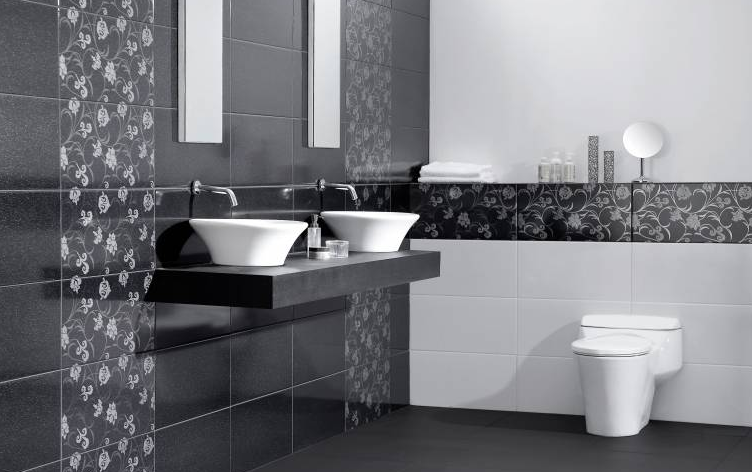 Aneka model Keramik dinding kamar mandi platinum minimalis