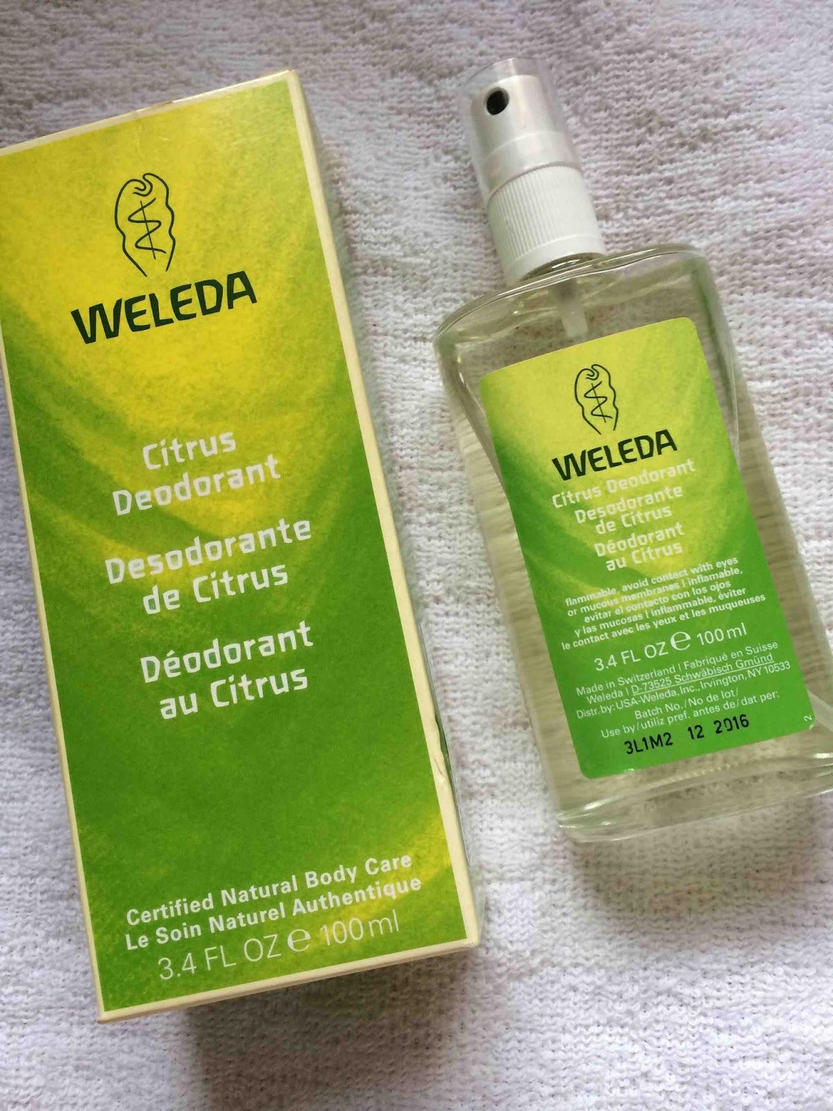 Desodorante de Citrus de Weleda