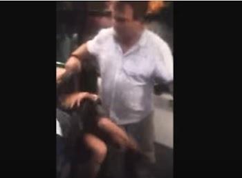 ΑΠΑΡΑΔΕΚΤΟ: Ελεγκτές του ΟΑΣΘ ασκούν βία σε μία κοπέλα που την έπιασαν χωρίς εισητήριο... [video]