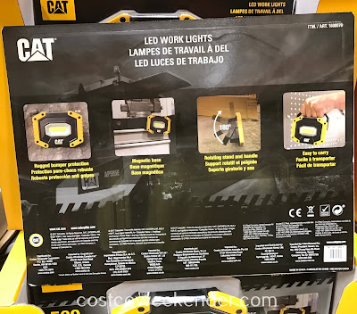 Costco 1600070 - Cat LED Work Lights: great for diy projects or working on your car