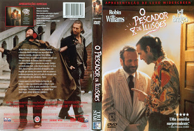 Filme O Pescador de Ilusões (The Fisher King) DVD Capa