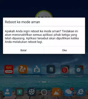 Menghapus virus di Hp Android