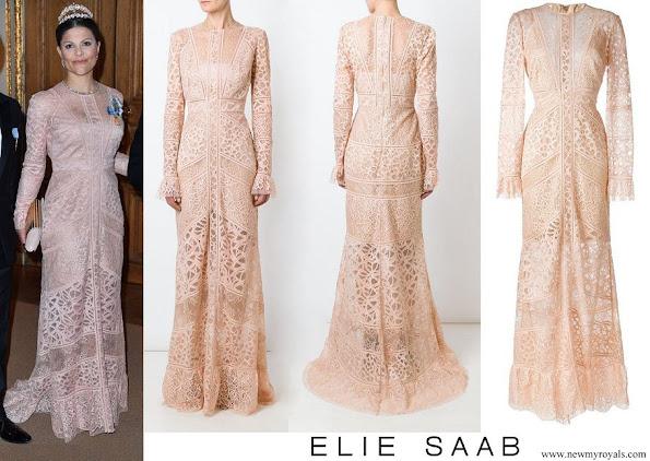 Crown Princess Victoria wore ELIE SAAB Melrose Gown