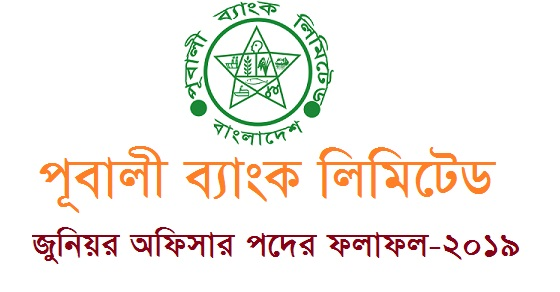 Pubali Bank Ltd. Junior Officer Exam Result 2019