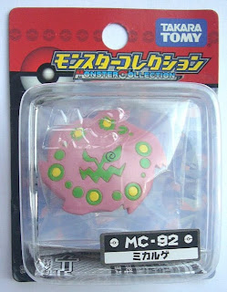 Spiritomb Pokemon figure Takara Tomy Monster Collection MC series
