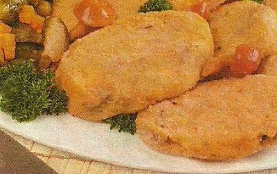 Ингредиенты и описание приготовления паровых котлет с грибами и картофелем