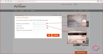 Cara menambahkan Bank Acoount  di payoneer