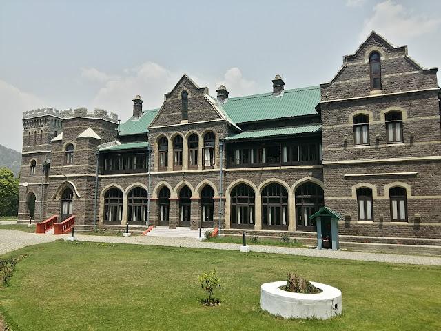 Governor's House or Raj Bhavan, Nainital