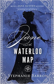 Book Cover: Jane and the Waterloo Map by Stephanie Barron