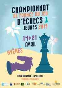 Championnat de France Jeunes d'échecs Hyères 2019