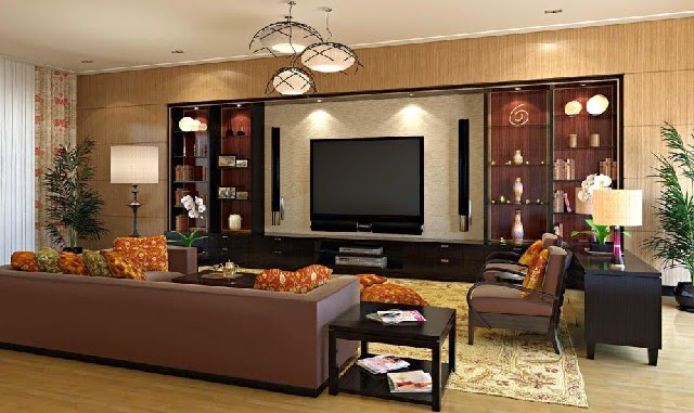 Contemporary Living Room Arrangement Ideas