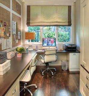 Idea de oficina en casa
