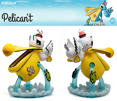 Pelican't Regular Edition Vinyl Figure by Joe Ledbetter x Kidrobot