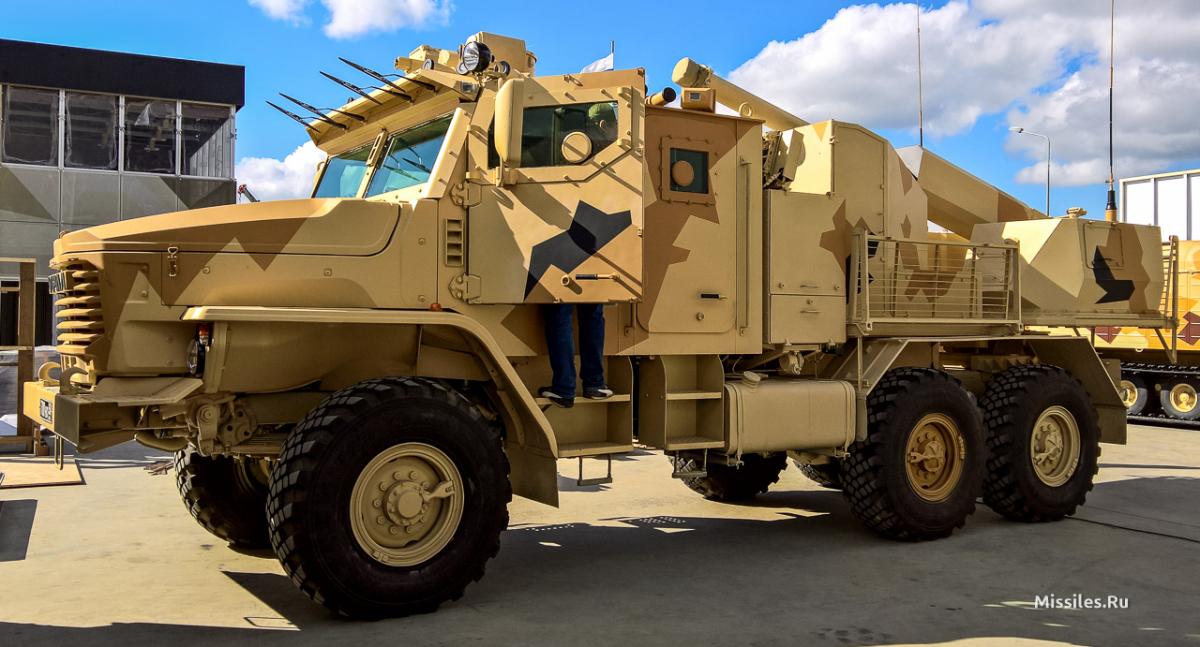 120-мм САУ Флокс