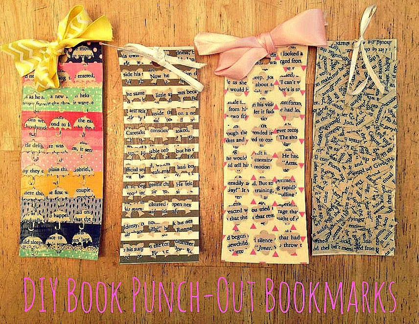 http://lizsbookbucketlist.blogspot.com/2014/10/diy-book-punch-out-bookmarks.html