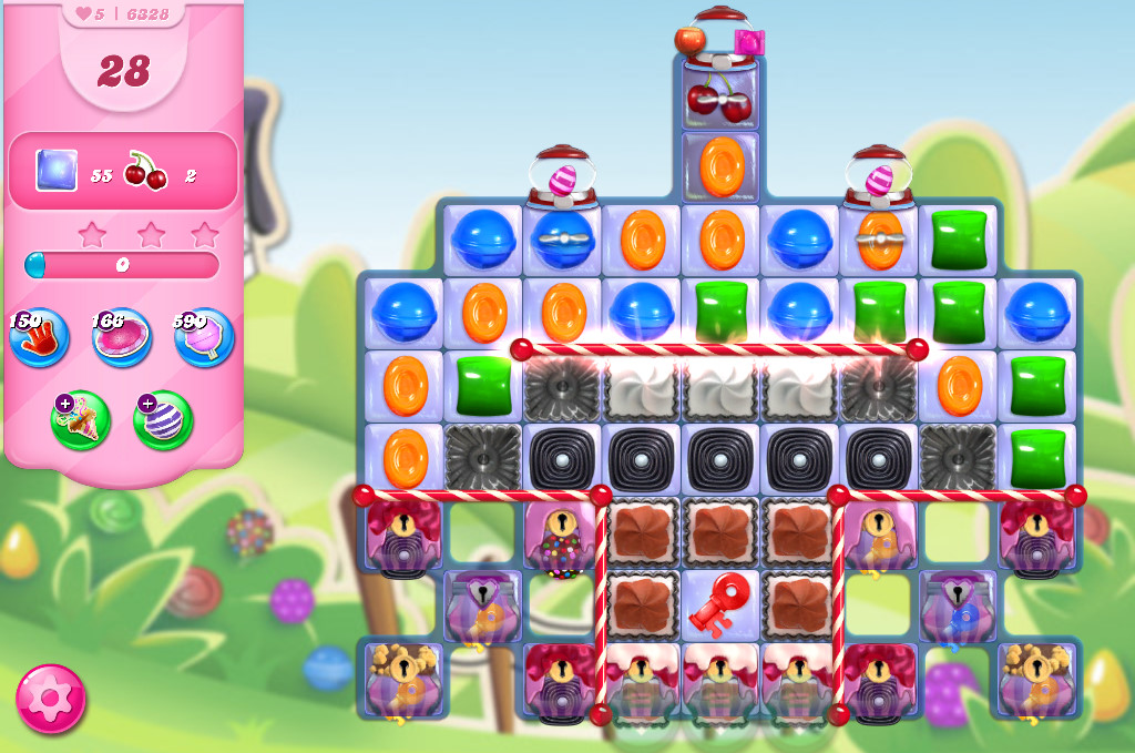 Candy Crush Saga level 6328