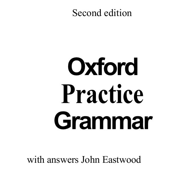 EXAMS PORT: OXFORD GRAMMAR BOOK