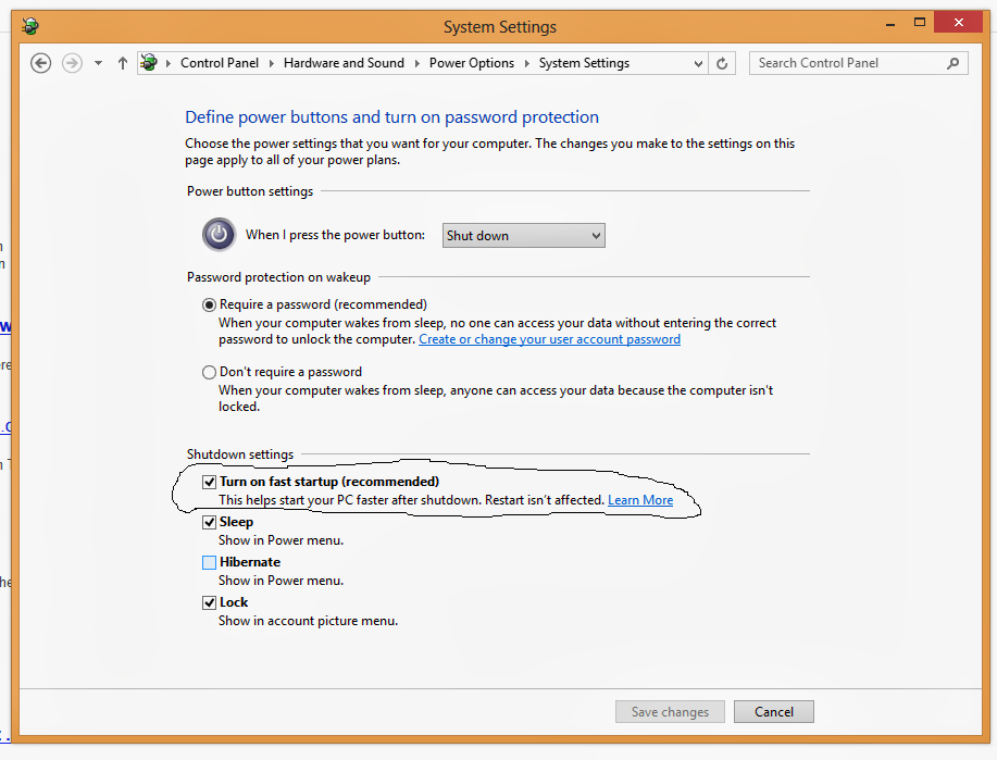 How to Disable Hybrid Boot in Windows 8 | Ron's Tech Tips