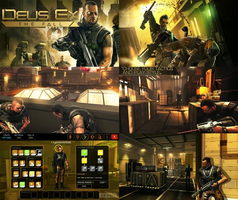 Deus Ex The Fall v0.0.2.1 APK
