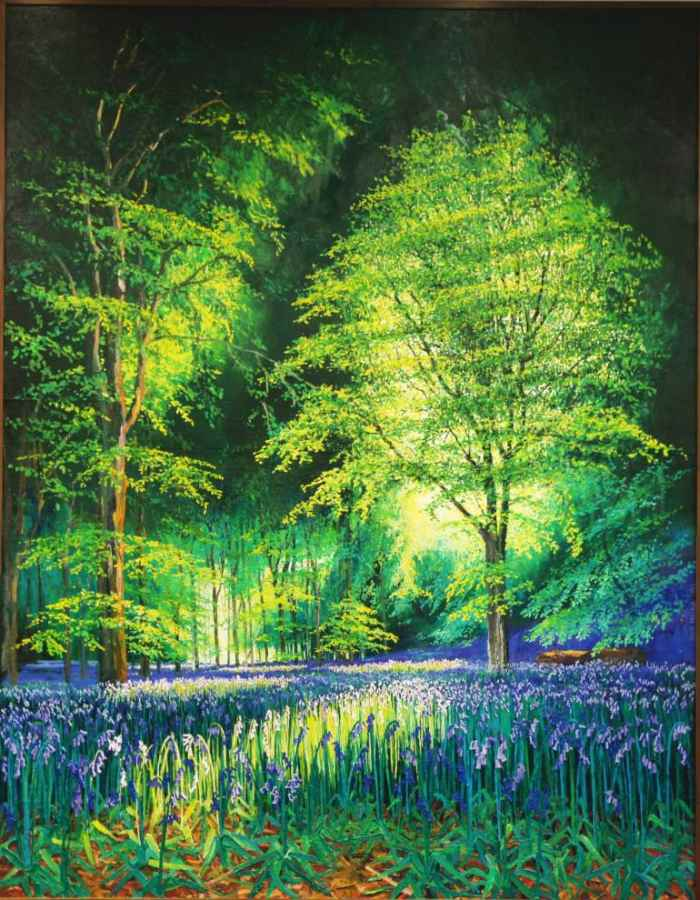 Британский художник. Hugh Miller