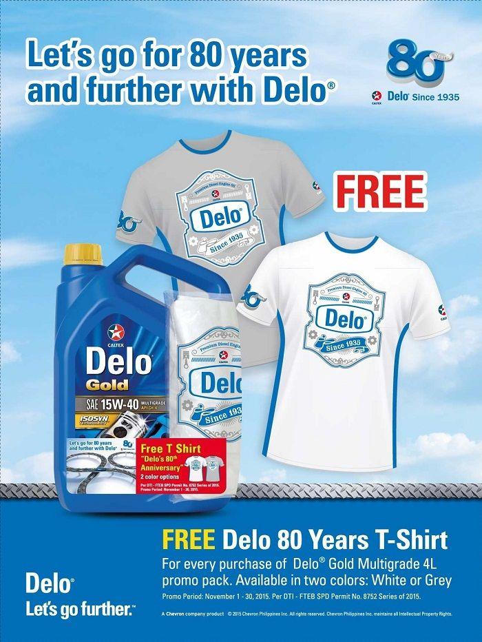 Delo 80th Anniversary Celebration Promo
