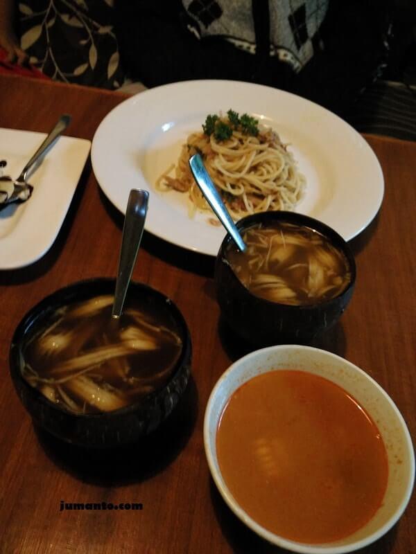 menu makanan kampung daun