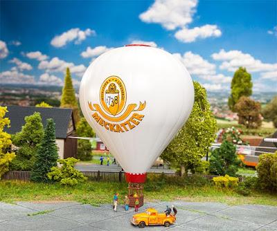 Hot air balloon Meckatzer