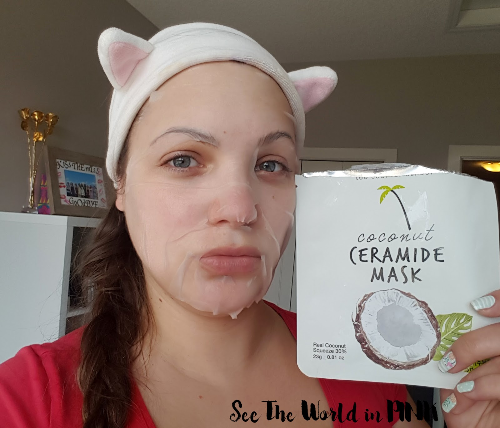 Mask Wednesday - Too Cool For School Coconut Ceramide Mask