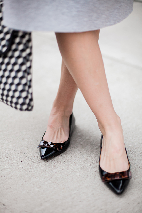Here&Now: pointed toe flats
