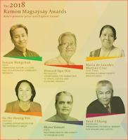 Ramon Magsaysay Award 2018