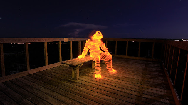 Jason D. Page Light Painting Tutorial: How To Light Paint a Light Man