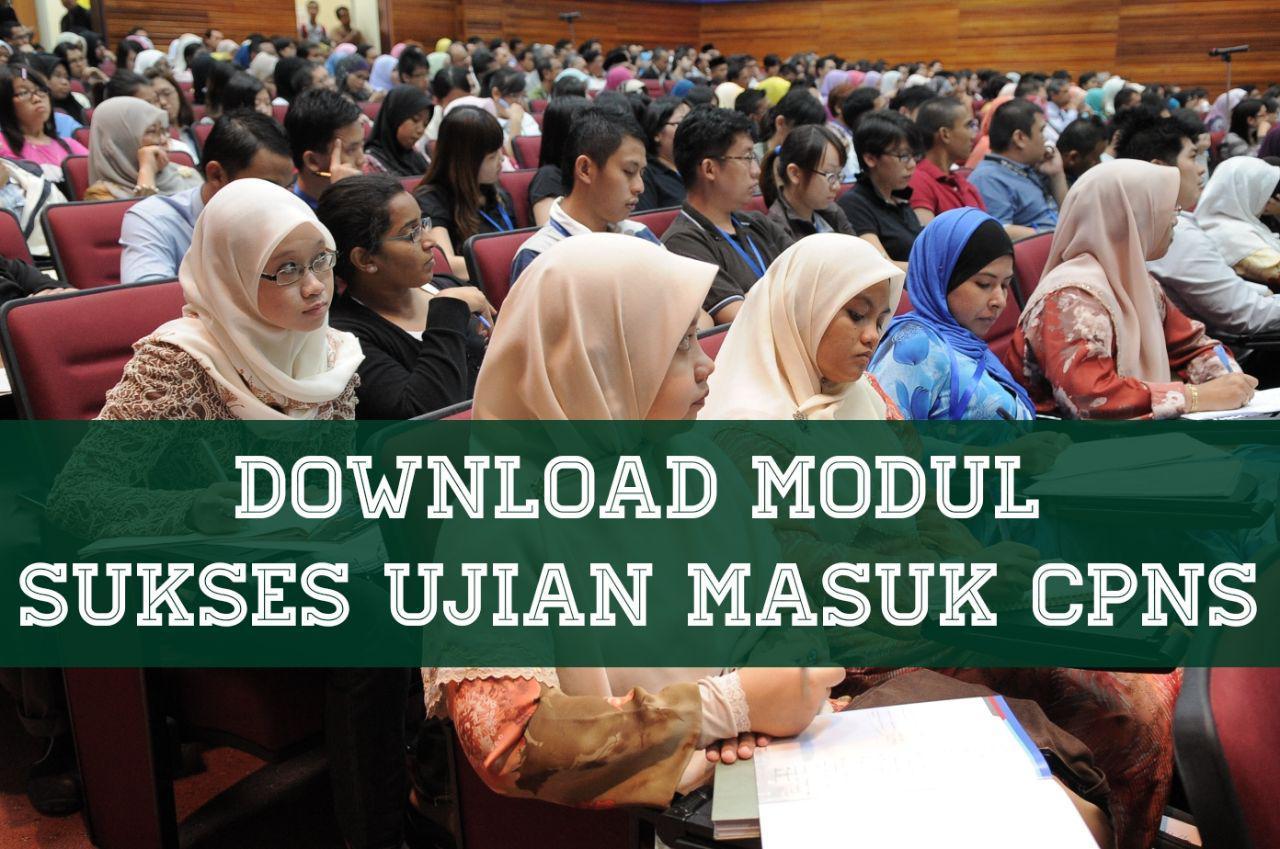 Download modul Sukses masuk tes cpns