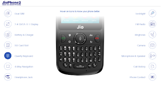 Jio phone features