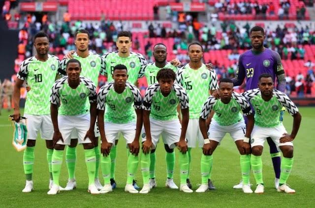 Nigeria's FIFA rankings drop ahead 2018 World Cup