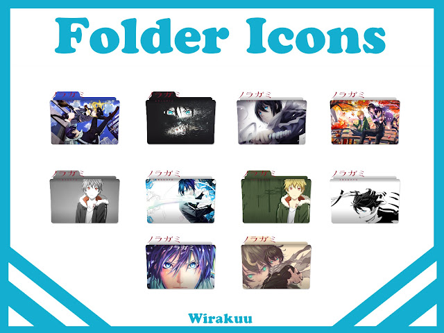 Free Download Folder Icons Anime Noragami