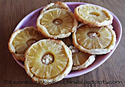 Ciastka z ananasem