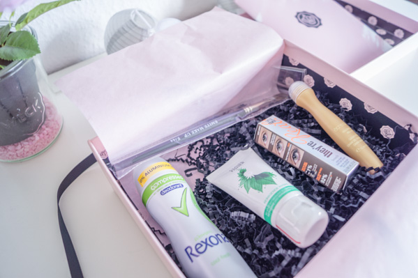 Glossybox unboxing - Starterbox