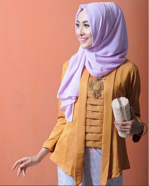 Tutorial Hijab Untuk Kebaya Kutu Baru : tutorial, hijab, untuk, kebaya, Tutorial, Hijab, Kebaya