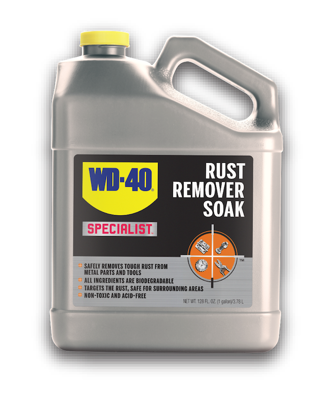 WD-40® SPECIALIST RUST REMOVAL SOAK