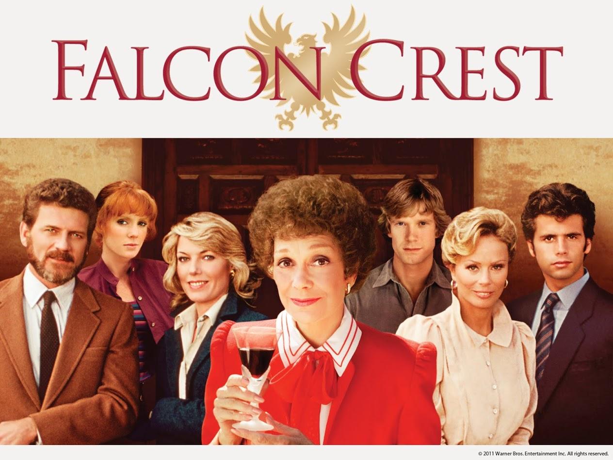 Imagen de la serie Falcon Crest con Angela Channing