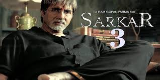 Manoj Bajpai, Amitabh Bachchan New Upcoming movie made under Ram Gpal Verma project Sarkar 3 movie release date, star cast, 2017 movie Poster