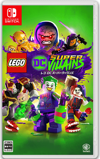 LEGO DC super villains switch nsp | switch games mods tools