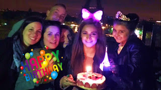 Famous Pakistani Actress Noor Bukhari Celebrating Her Birthday with Daughter in Paris