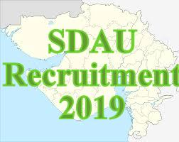 SDAU Recruitment 2019 | For Professor, Associate & Assistant Professor